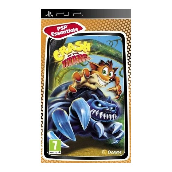 Crash of the Titans - Essentials - PSP