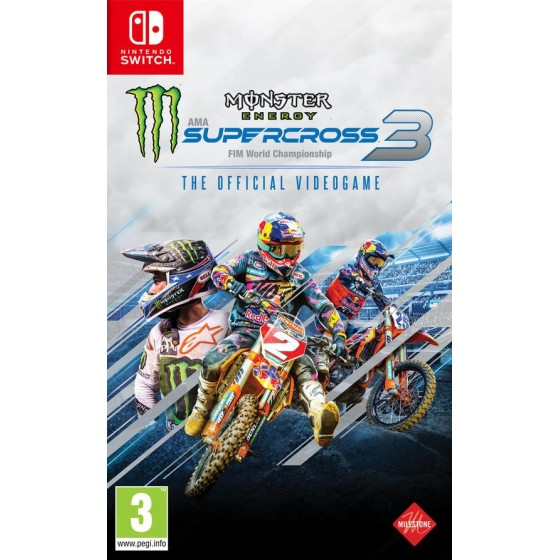 Monster Energy Supercross 3 - PS4 - The Gamebusters