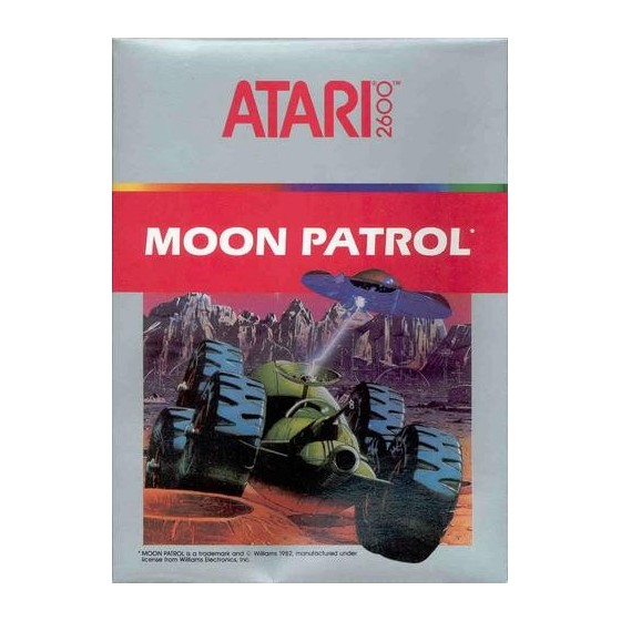 Moon Patrol - Atari