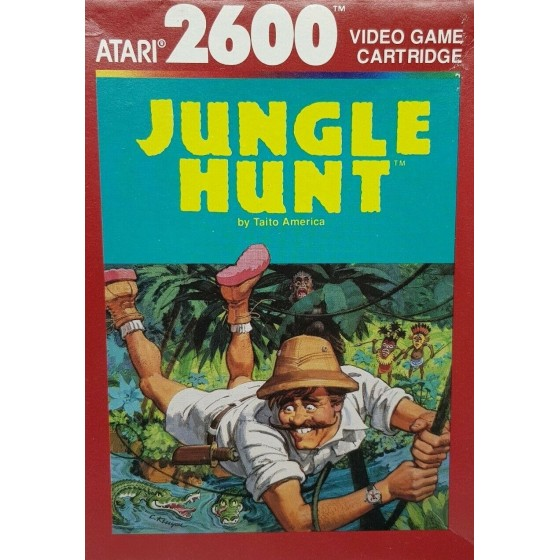 Jungle Hunt - Atari