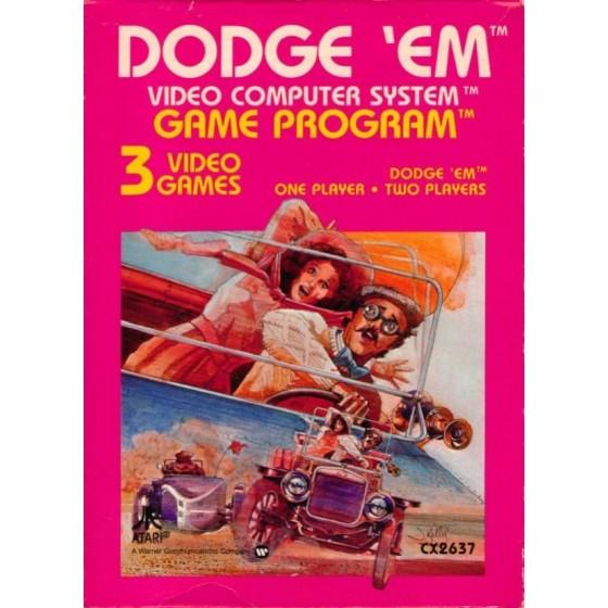 Dodge 'Em - Atari