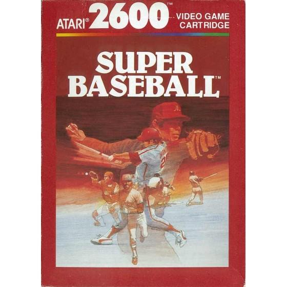 Super Baseball - Atari