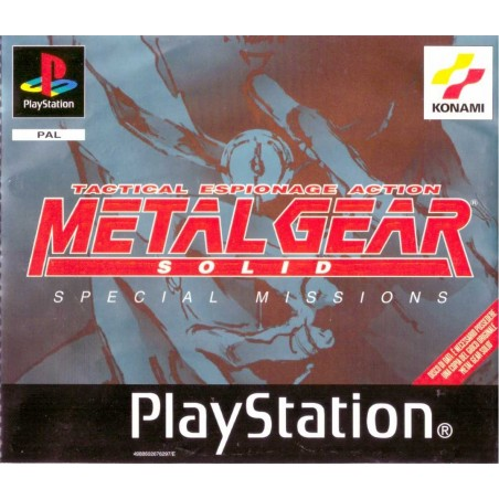 Metal Gear Solid Special Missions - PS1 - The Gamebusters