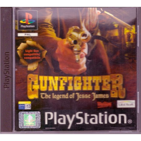 Gunfighter: The legend of Jesse James - PS1
