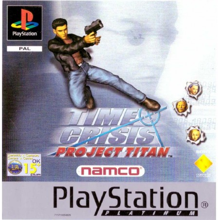 Time Crisis: Project Titan - Platinum - PS1