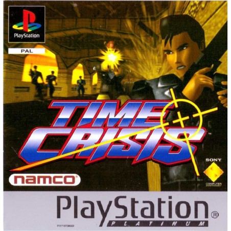 Time Crisis - Platinum - PS1