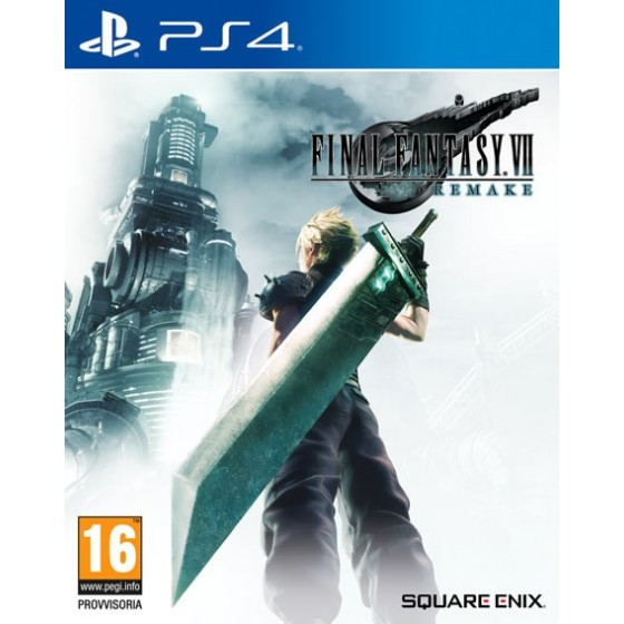 Final Fantasy VII Remake - PS4 - The Gamebusters