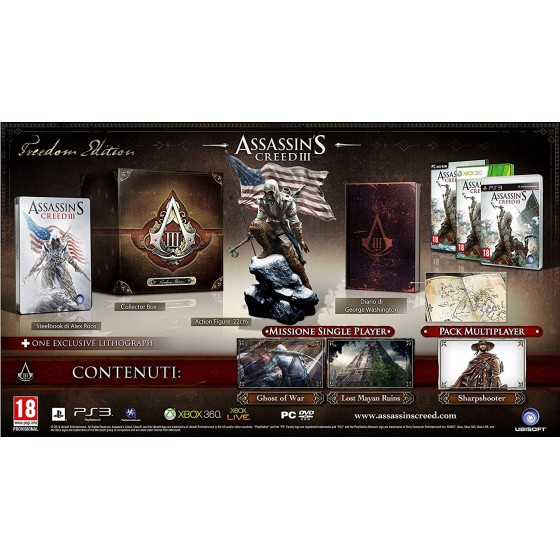 Assassin's Creed III - Freedom Edition - Xbox 360