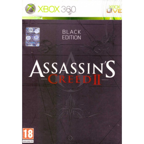 Assassin's Creed II - Black Edition - Xbox 360