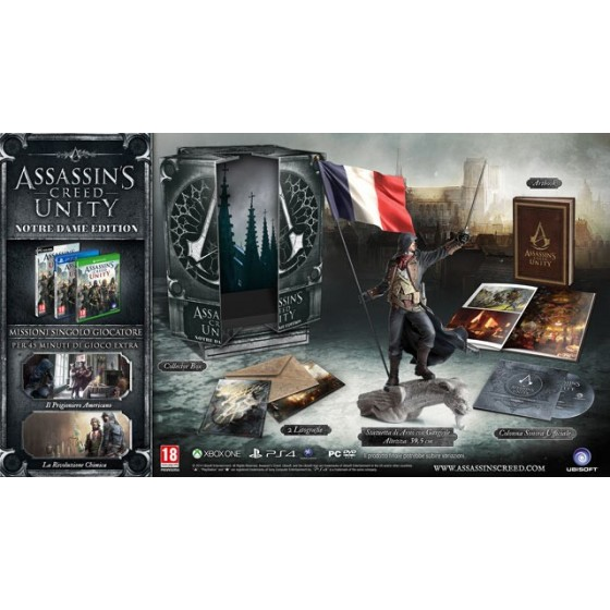 Assassin's Creed Unity - Notre Dame Edition - Xbox One usato