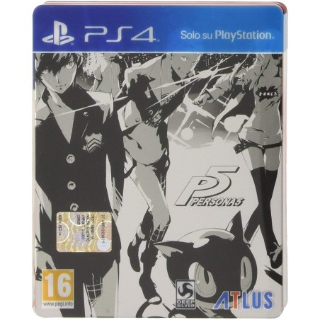 Persona 5 - Steelbook Edition - PS4