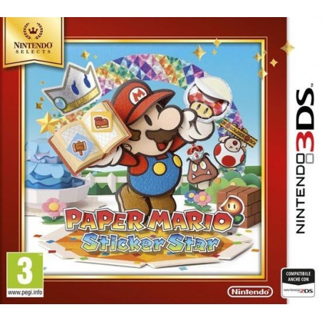 Paper Mario Sticker Star - Selects