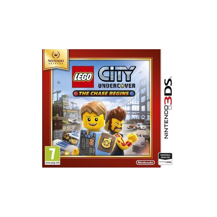 LEGO City Undercover: The Chase Begins - Selects per 3ds