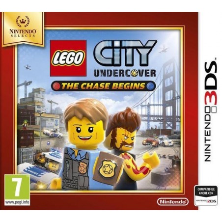 LEGO City Undercover: The Chase Begins - Selects - 3DS