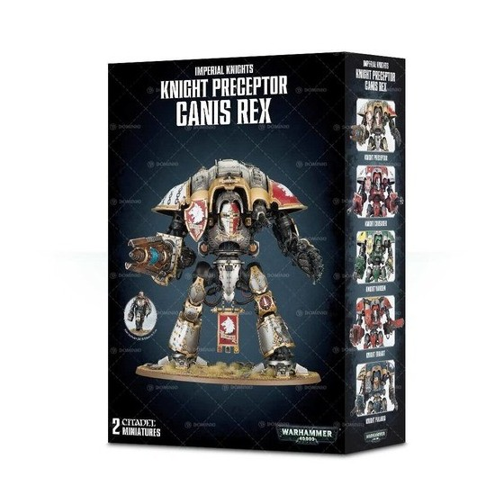 Imperial Knights - Knight Preceptor Canis Rex - Warhammer 40.000