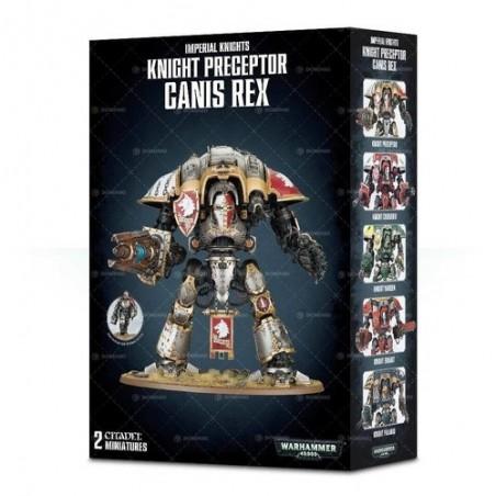 Imperial Knights - Knight Preceptor Canis Rex - Warhammer 40.000