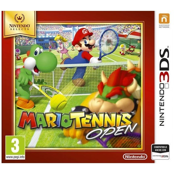 Mario Tennis Open - Selects - 3DS