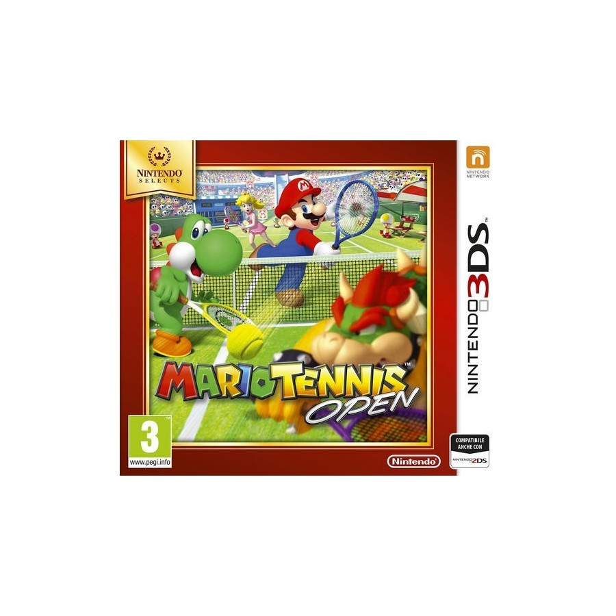 Mario Tennis Open - Selects per 3ds