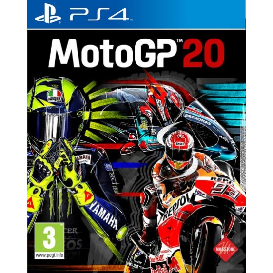 MotoGp 20  -  PS4 - The Gamebusters