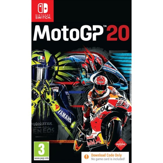 MotoGp 20  - Switch - The Gamebusters