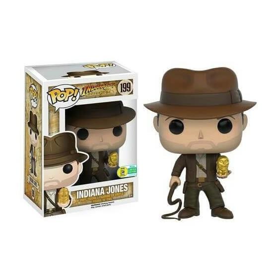 Funko Pop! - Indiana Jones (199) - Indiana Jones - The Gamebusters