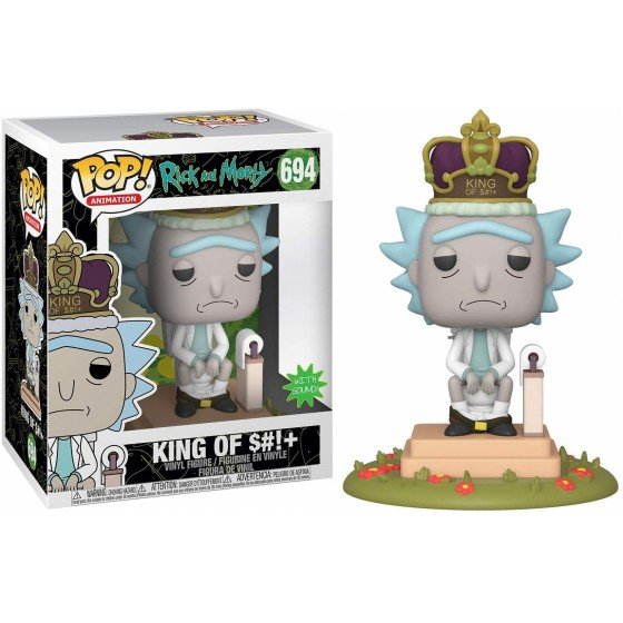 Funko Pop! - King of Shit (694) - Rick & Morty