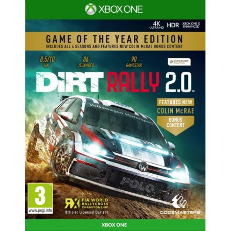 Dirt Rally 2.0 - Game of The Year Edition- Xbox One