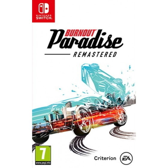 Burnout Paradise Remastered - Preorder Switch - The Gamebusters