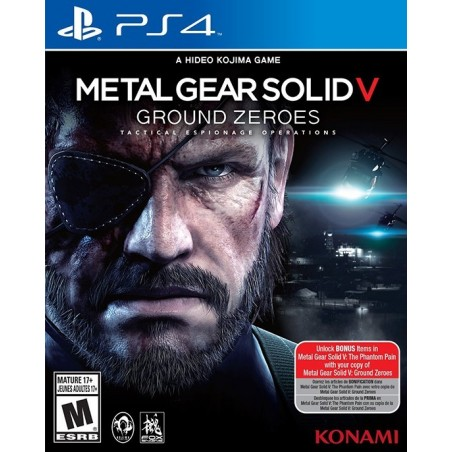 Metal Gear Solid V Ground Zeroes - PS4