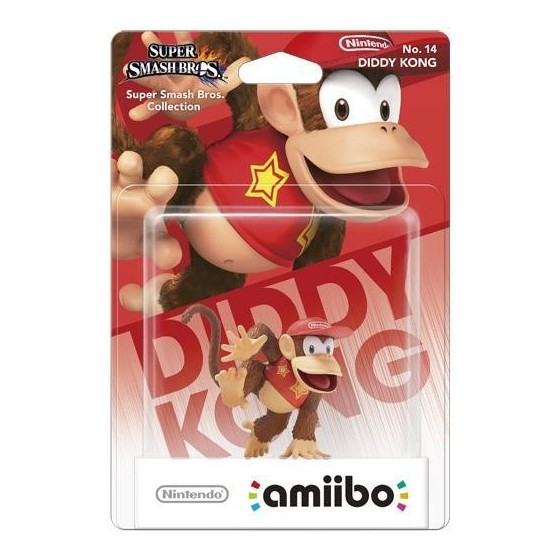 Nintendo Amiibo - Diddy Kong - Super Smash Bros Ultimate