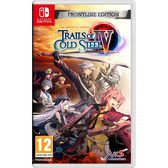 The Legend of Heroes: Trails of Cold Steel IV - Frontline Edition  - Preorder Switch - The Gamebusters