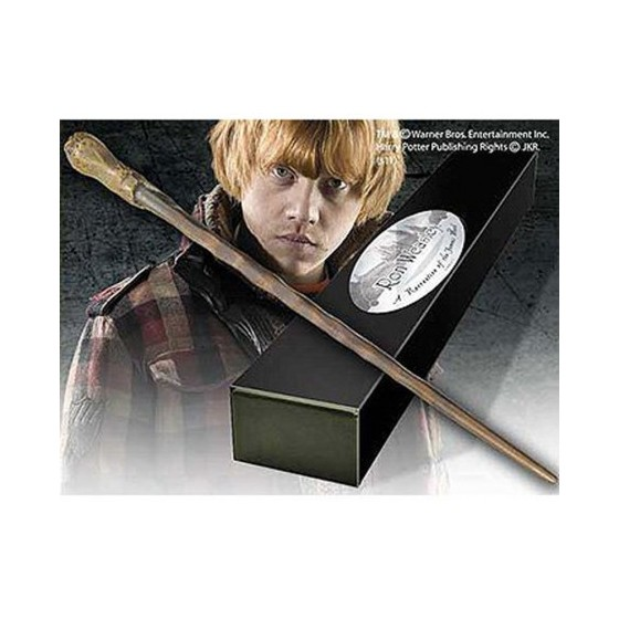 The Noble Collection Replica - Bacchetta di Ron Weasley - Harry Potter