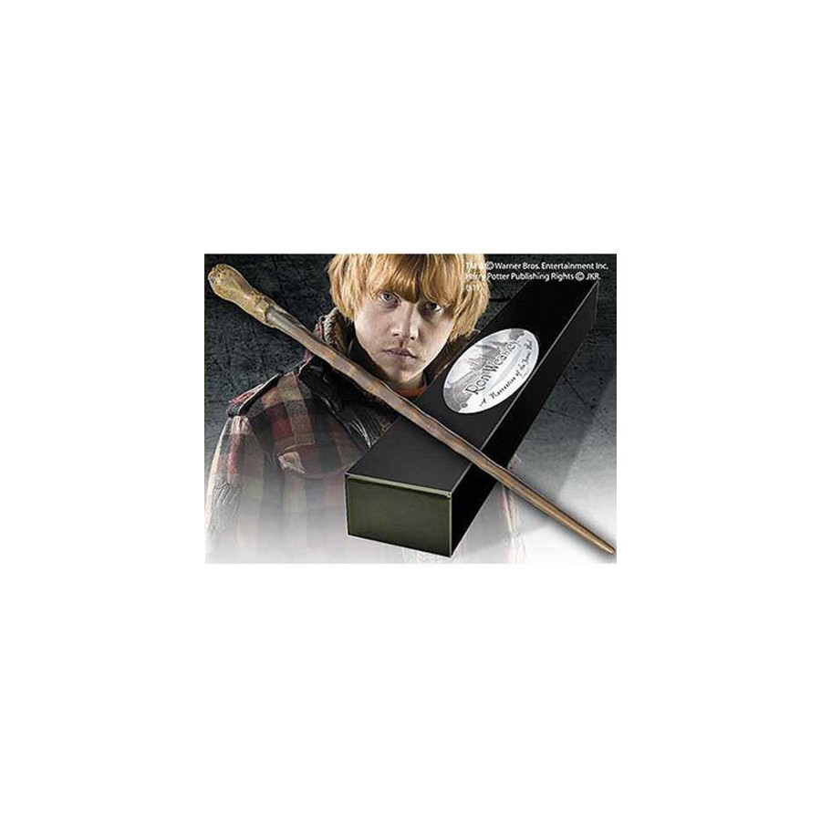 BACCHETTA DI RON WEASLEY DI HARRY POTTER NUOVA ORIGINALE NOBLE COLLECTION!!!