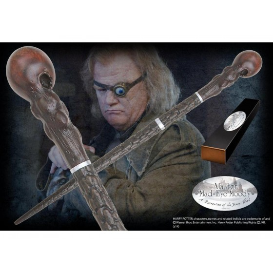 The Noble Collection Replica - Bacchetta di Alastor Mad Eye Moody - Harry Potter