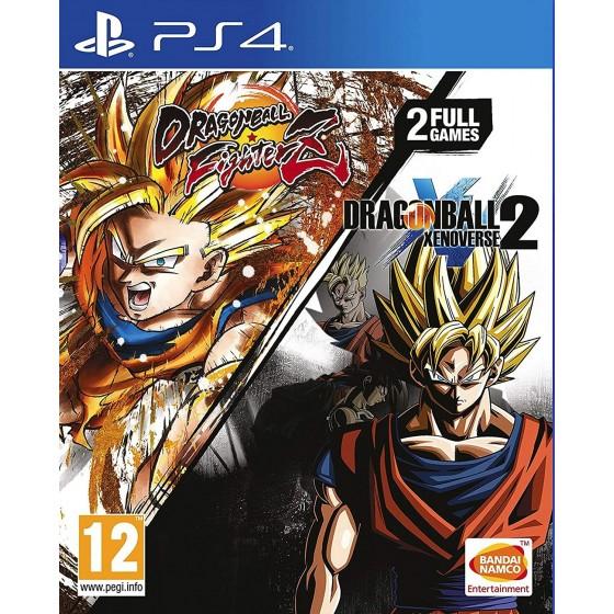 Dragon Ball Fighterz e Dragon Ball Xenoverse 2 - PS4