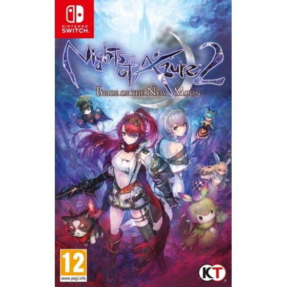 Nights of Azure 2: Bride Of The New Moon - Switch