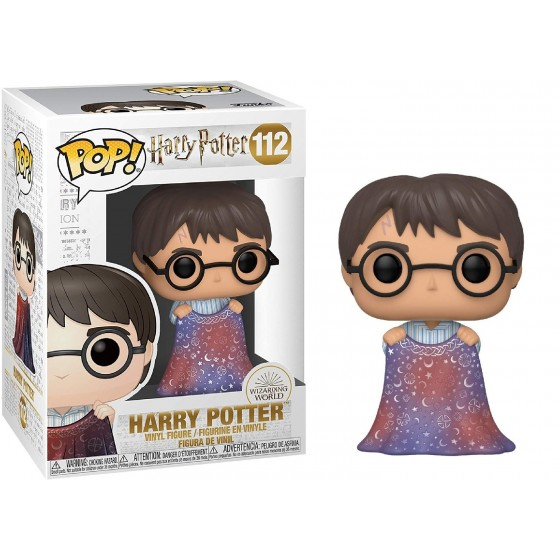 Funko Pop! - Harry Potter with Invisibility Cloak (112) - Harry Potter