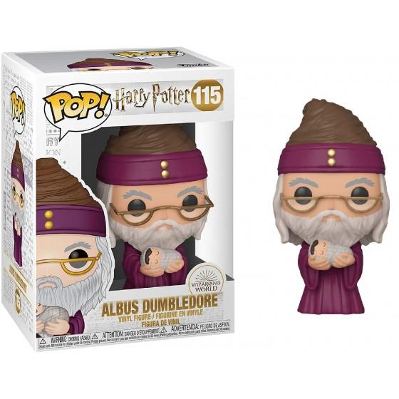 Funko Pop! - Albus Dumbledore With Baby Harry (115) - Harry Potter