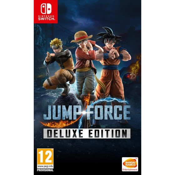 Jump Force - Deluxe Edition - Preorder Switch - The Gamebusters