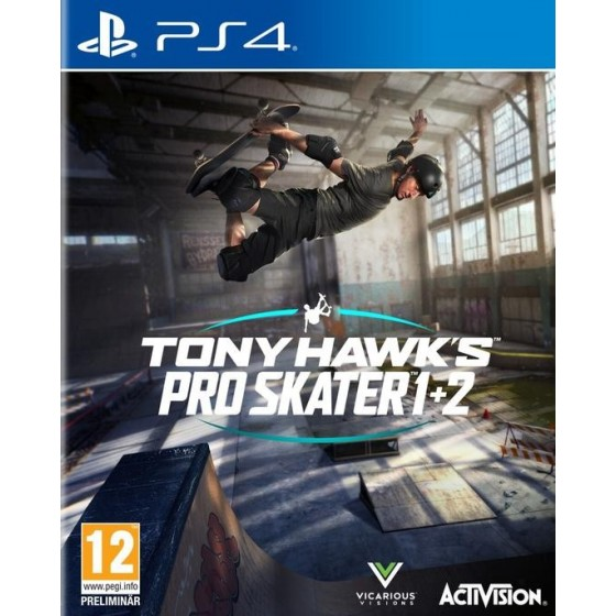 Tony Hawk's Pro Skater 1 + 2 - PS4 - The Gamebusters