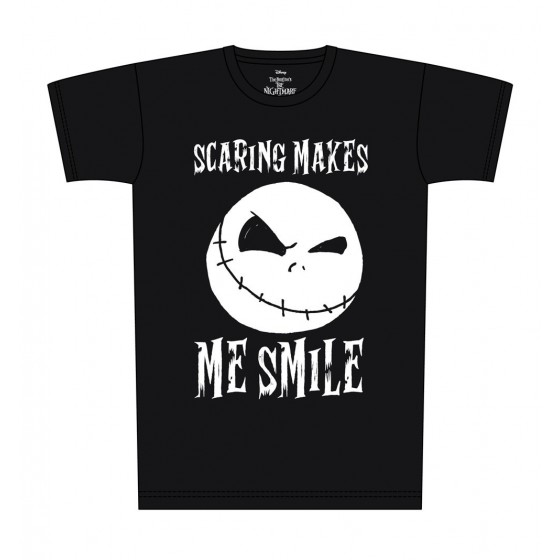 T-Shirt - Scaring Make Me Smile - Nightmare Before Christmas