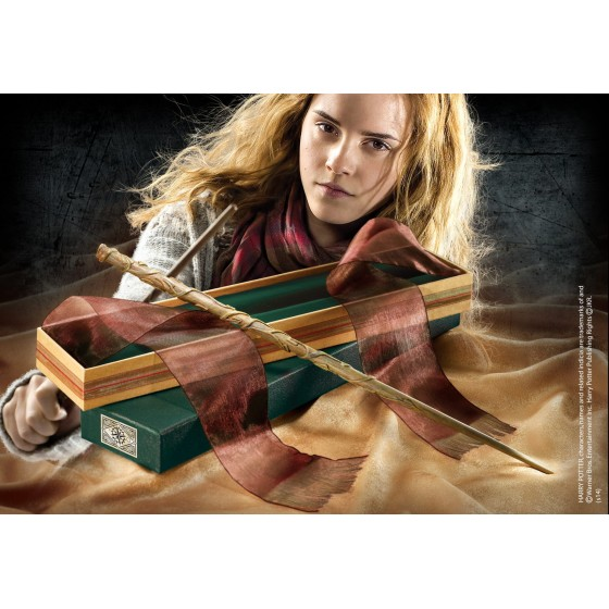 The Noble Collection Replica - Bacchetta di Hermione Granger (Deluxe Edition) - Harry Potter