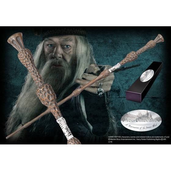 The Noble Collection Replica - Bacchetta di Albus Dumbledor Silente - Harry Potter