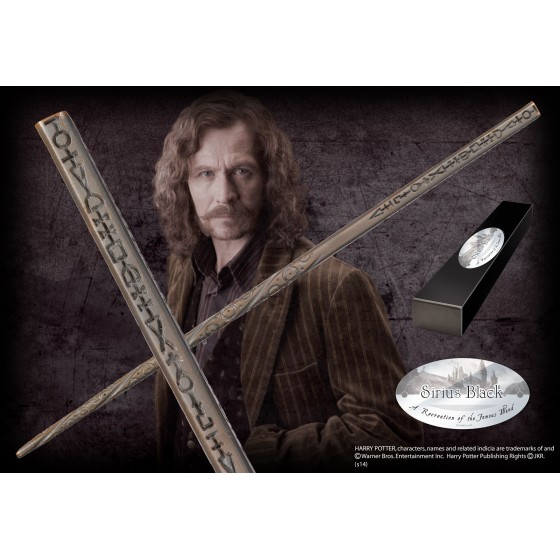 The Noble Collection Replica - Bacchetta di Sirius Black - Harry Potter