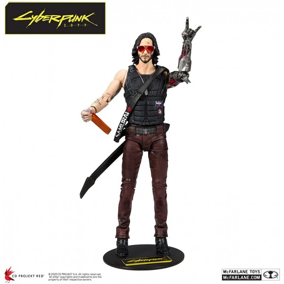 McFarlane Action Figure - Johnny Silverhand - Cyberpunk 2077