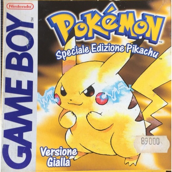 Pokemon Versione Gialla - Game Boy