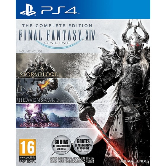Final Fantasy XIV Online - The Complete Edition - PS4