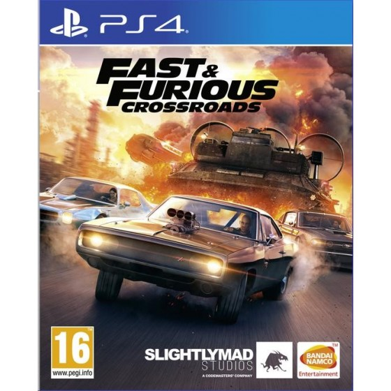 Fast & Furious Crossroads  - PS4 - The Gamebusters