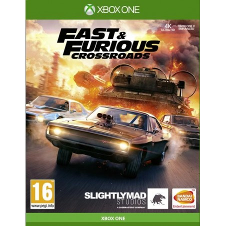 Fast & Furious Crossroads - Preorder Xbox One - The Gamebusters