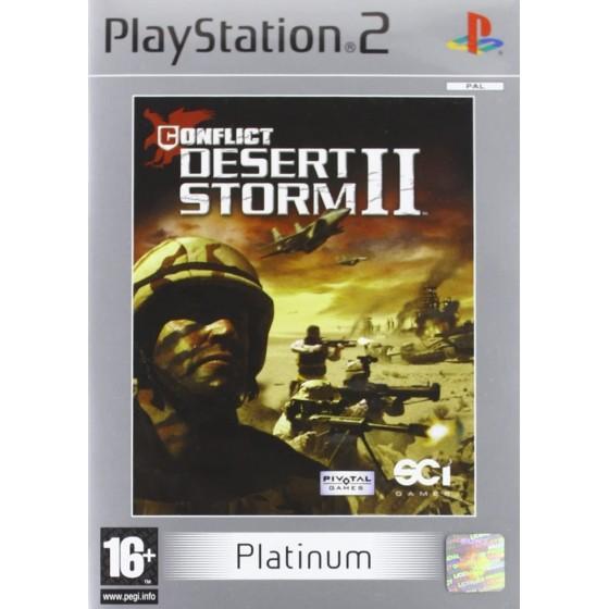 Conflict Desert Storm II - Platinum - PS2